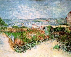 В.Ван Гог.Огороды на Монмартре.1887 г.
