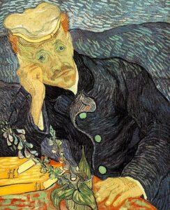 В.Ван Гог.Портрет доктора Гаше. 1890 г.