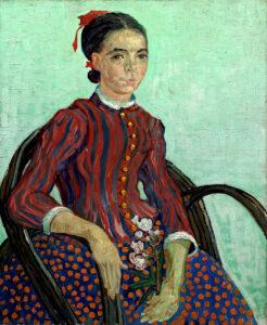 В.Ван Гог.Сидящая.1888 г.