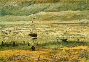 В.Ван Гог.Вид на море в Схевенингене.1882 г.