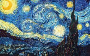 В.Ван Гог.Звездная ночь.1889 г.