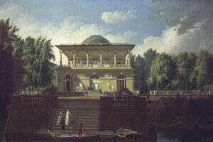 А. Н. Воронихин.Вид на Строгановскую дачу в Петербурге. 1797 г.