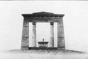 А.Н.Воронихин.Проект фонтана у Пулковской горы.