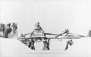 А.Н.Воронихин.Проект моста в виде руин.