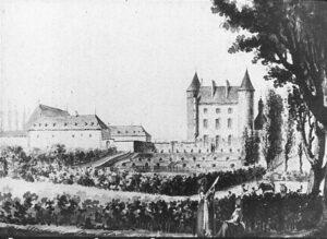 А.Н.Воронихин.Вид замка в Глене (Швейцария).1787 г.