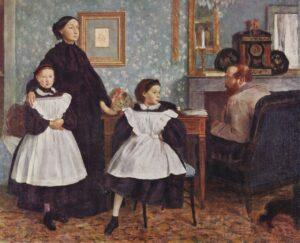 Эдгар Дега.Семейство Беллели.1858—1867 гг.