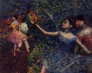 Эдгар Дега.Танцовщица и тамбурин.1897 г.