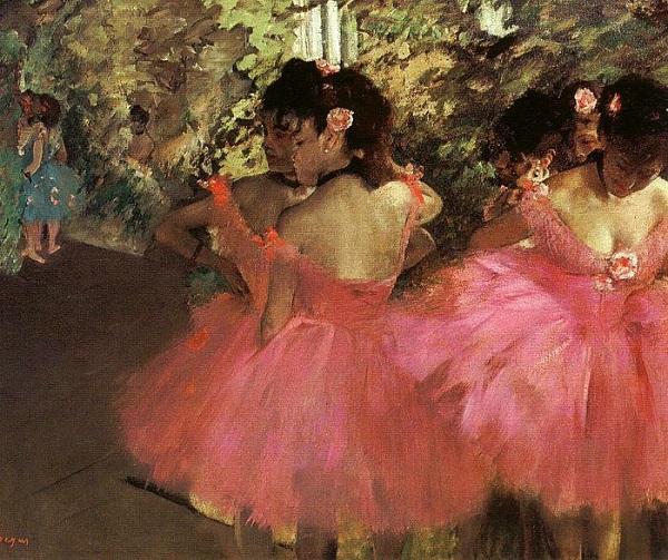 Эдгар Дега.Танцовщицы в розовом.1885 г.