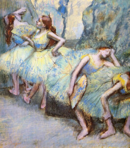 Эдгар Дега.Танцовщицы за кулисами.1901 г.