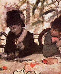 Эдгар Дега.В кафе.1877 г.