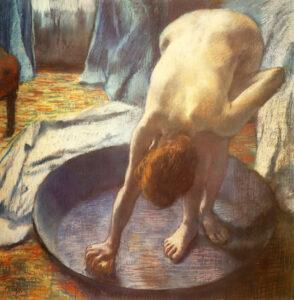 Эдгар Дега.Ванна.1886 г.