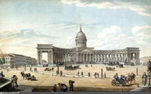 Казанский собор в Петербурге.1814 г.