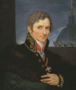 портрет А.Н.Воронихина