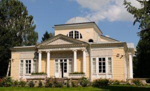 Розовый павильон в Павловском парке.1811-1812 гг.