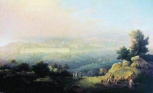 М.Н.Воробьев. Вид Иерусалима,1821 г.