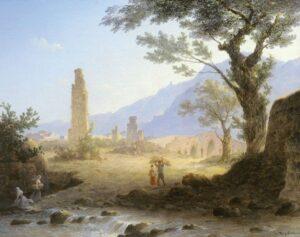 М.Н.Воробьев.Итальянский пейзаж.1847 г